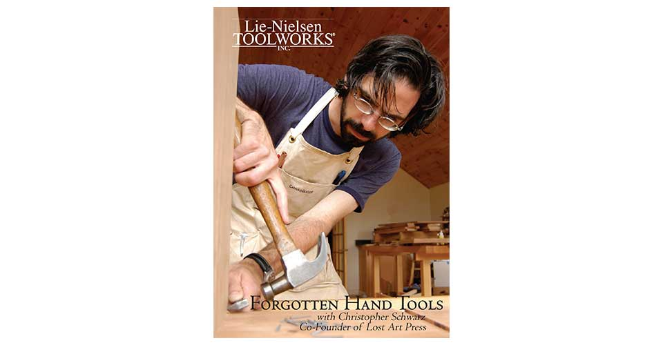Forgotten Hand Tools - DVD