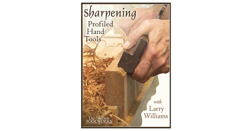 Sharpening Profiled Hand Tools - DVD