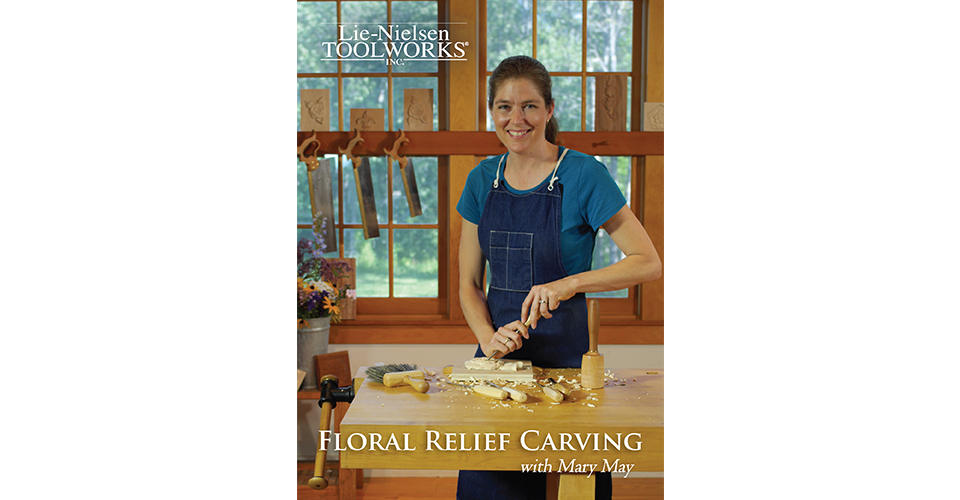 Floral Relief Carving - DVD