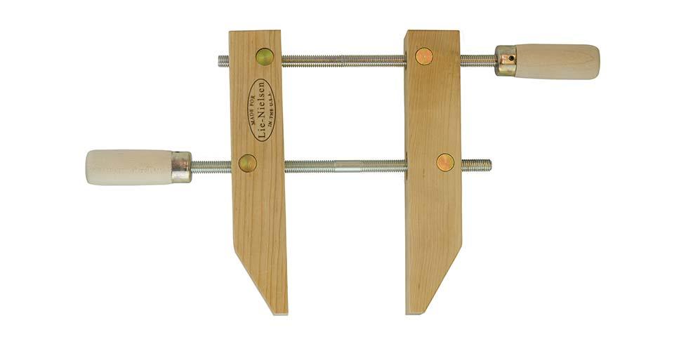 "Wooden Hand Screw Clamp 10"""