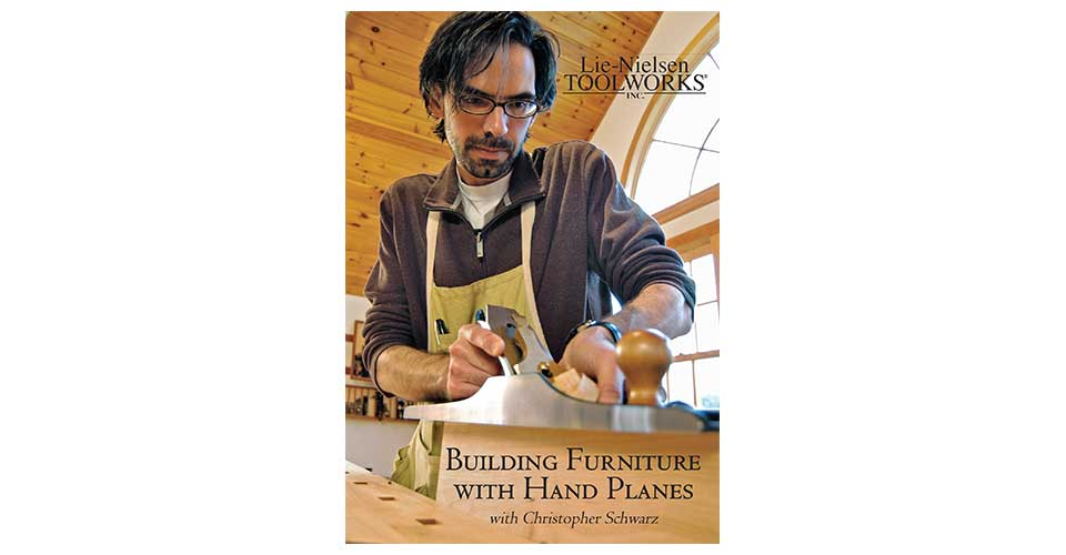 Building Furniture with Hand Planes - DVD