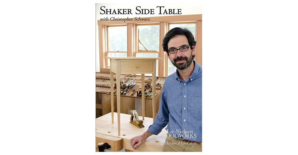 Shaker Side Table  - DVD