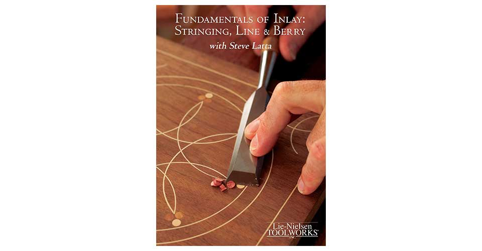 Fundamentals of Inlay: Stringing, Line & Berry - DVD