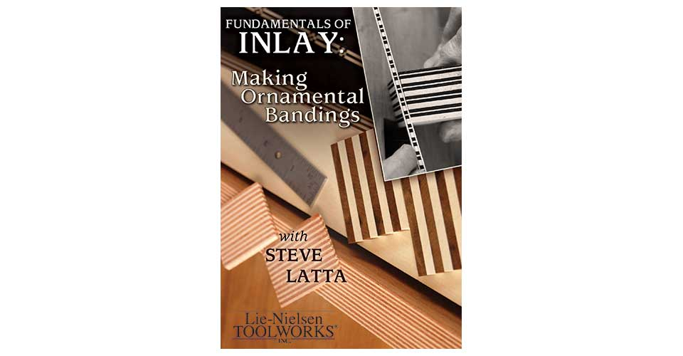Fundamentals of Inlay: Making Ornamental Bandings - DVD