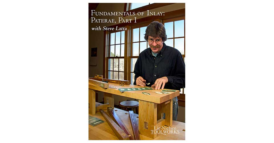 Fundamentals of Inlay: Paterae, Part I - DVD