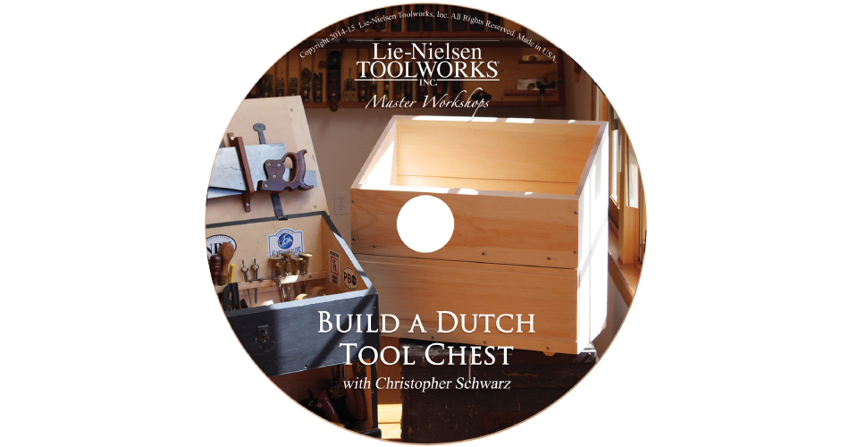 Build a Dutch Tool Chest - DVD