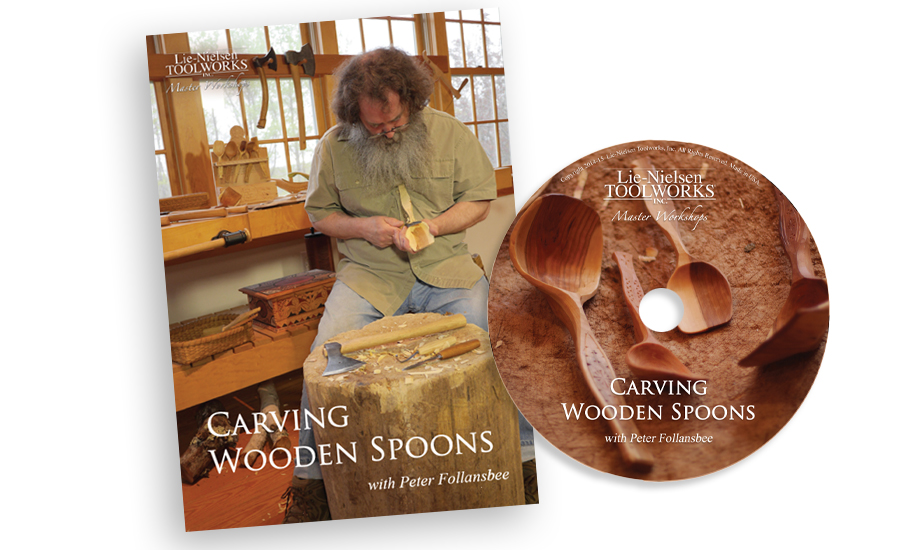 Carving Wooden Spoons - DVD