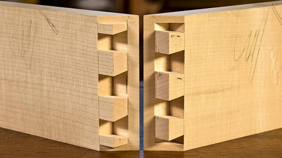 Secret Mitre Dovetail With David Charlesworth