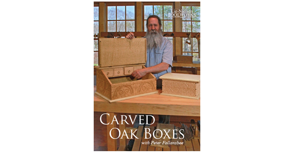 Carved Oak Boxes - DVD
