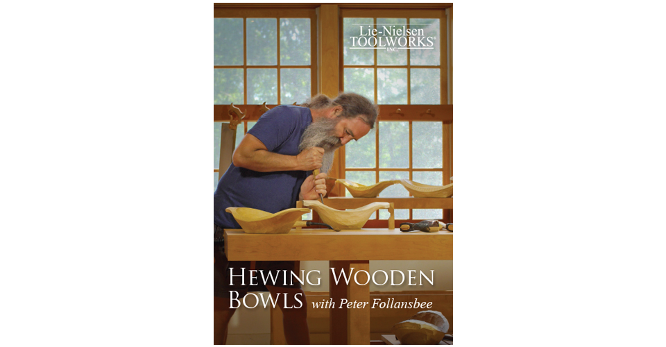 Hewing Wooden Bowls - DVD