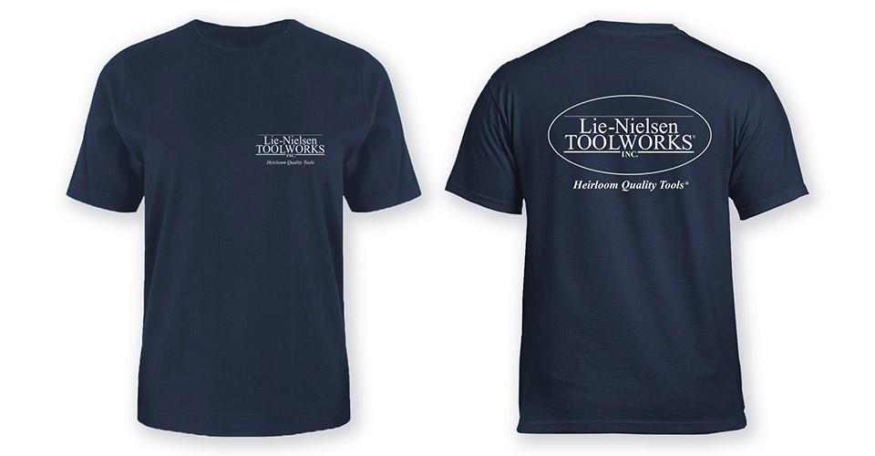 Lie-Nielsen T-Shirt - Blue - S