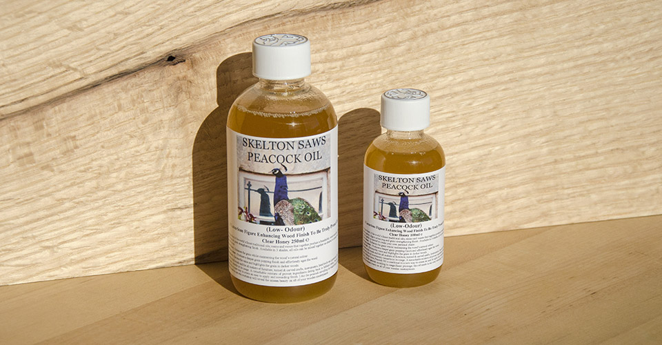 Peacock Oil - Clear Honey - 250ml