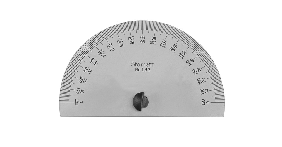 Steel Protractor without Blade