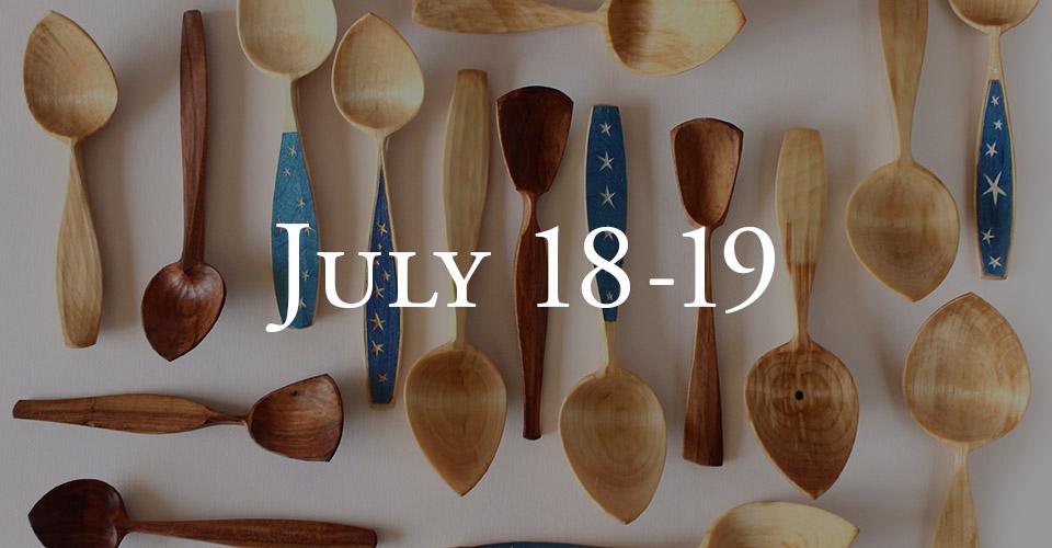 Wooden Spoon Carving - Jojo Wood